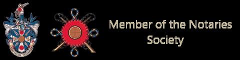 member of the notaries society